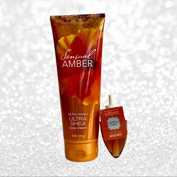 Bath & Body Works Amber Bundle NWT